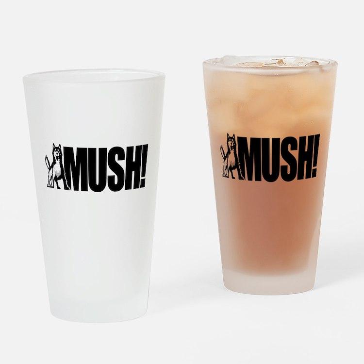 Husky Mush Drinking Glass