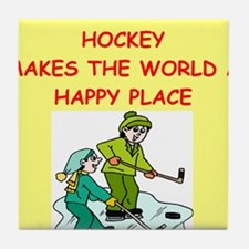 hockey Tile Coaster
