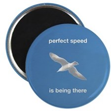 Perfect Speed Is Being There Magnet