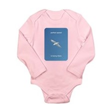 Perfect Speed Is Being There Long Sleeve Infant Bo