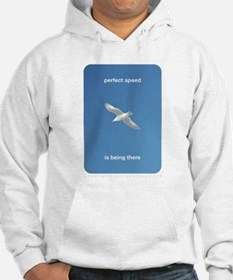 Perfect Speed Is Being There Hoodie