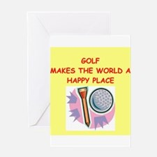 golf gifts Greeting Card