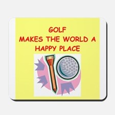 golf gifts Mousepad