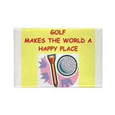 golf gifts Rectangle Magnet