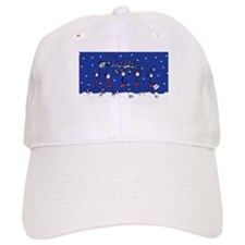 Christmas Runners Baseball Cap