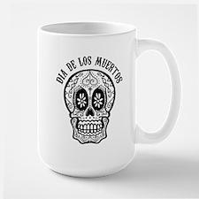 DiaDeLosMuertos_blk Mugs