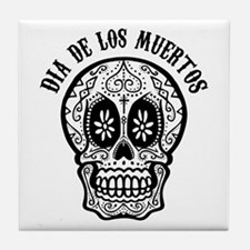 Funny Mexican sugar skulls Tile Coaster