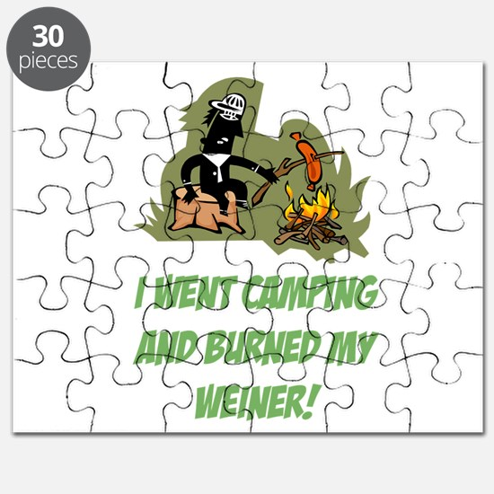 Burned My Weiner! Puzzle