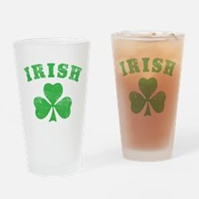 Cute Irish vintage Drinking Glass