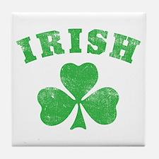 Cute Irish vintage Tile Coaster