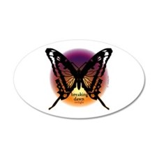 Breaking Dawn Dark Butterfly by Twibaby 22x14 Oval