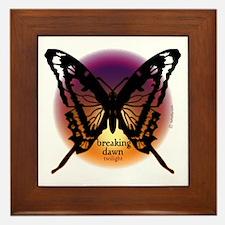 Breaking Dawn Dark Butterfly by Twibaby Framed Til