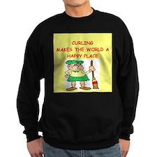 curling gifts t-shirts Sweatshirt