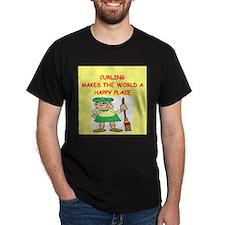 curling gifts t-shirts T-Shirt