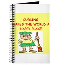 curling gifts t-shirts Journal