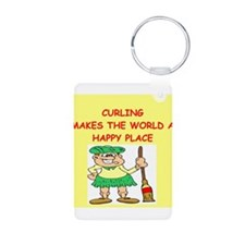 curling gifts t-shirts Keychains