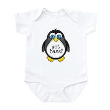 Bass Music Penguin Infant Bodysuit