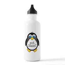 Bass Music Penguin Water Bottle