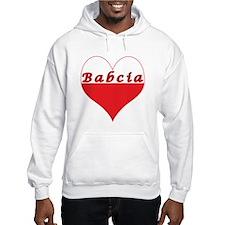 Babcia Polish Heart Hoodie