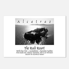 "Alcatraz ""Rock Resort"" Postcards (Pack 8"