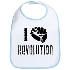 I Fist Revolution Bib