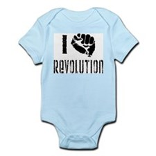 I Fist Revolution Infant Bodysuit