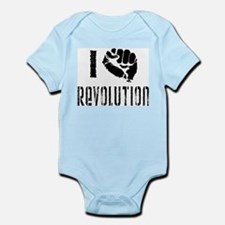 I Fist Revolution Infant Bodysuit