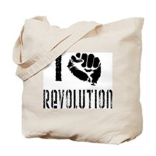 I Fist Revolution Tote Bag