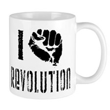I Fist Revolution Small Mug