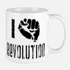 I Fist Revolution Small Small Mug