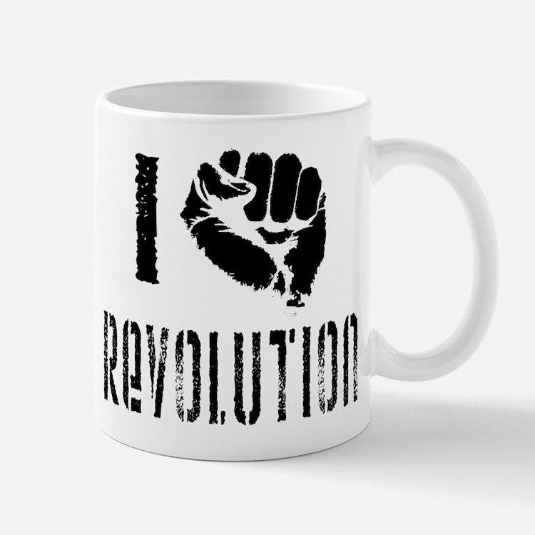 I Fist Revolution Small Small Mug