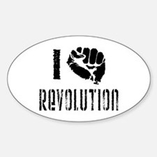 I Fist Revolution Decal