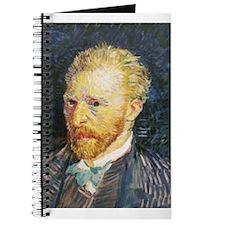 Van Gogh Self Portrait Journal