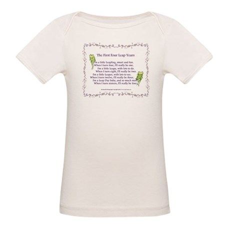 First Four Leap Years Organic Baby T-Shirt