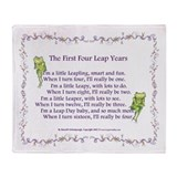 Leap year Blankets