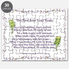First Four Leap Years Puzzle
