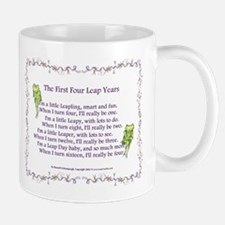 First Four Leap Years Right-Handed Mug