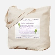 First Four Leap Years Tote Bag