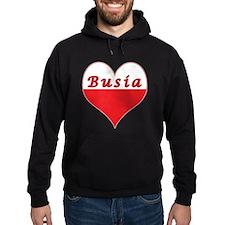 Busia Polish Heart Hoodie