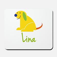Lina Loves Puppies Mousepad