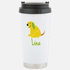 Lina Loves Puppies Travel Mug