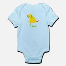 Lina Loves Puppies Infant Bodysuit