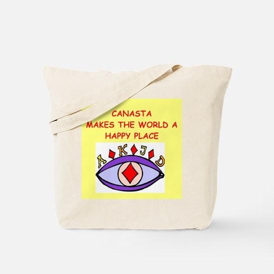canasta gifts t-shirts Tote Bag
