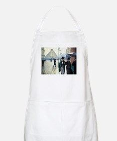 Paris Street Rainy Day Apron