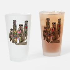 Meerkat Drinking Glass