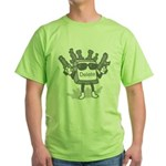 Delete Button Green T-Shirt