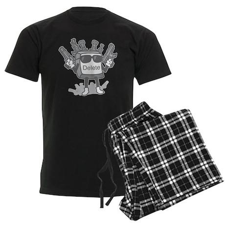 Delete Button Men's Dark Pajamas