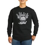 Delete Button Long Sleeve Dark T-Shirt