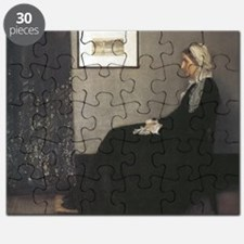 Whistler's Mother Puzzle
