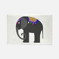 Indian Elephant Rectangle Magnet